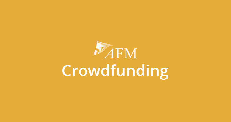 AFM over crowdfunding