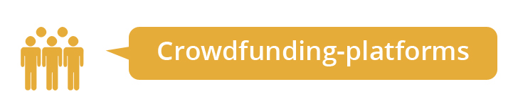 Crowdfunding platforms