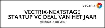 Vectrix-NextStage Startup VC Deal van het jaar 2019