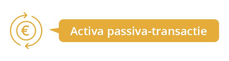 Activa passiva-transactie