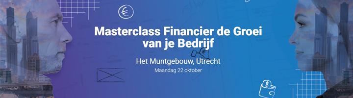 Masterclass Financier de Groei van je Bedrijf