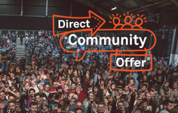 Direct community offer Crowdcube